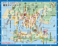 三崎城ヶ島観光MAP