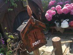 Speel Hobbithuis  brievenbus #diy #kids #playground