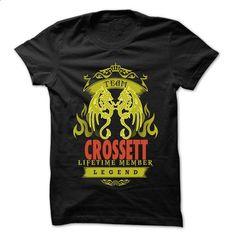 Team Crossett ... Crossett Team Shirt ! - t shirt designs #vintage t shirts #black sweatshirt