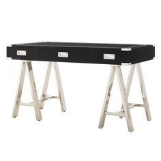 Lexington Titanium Writing Desk from the Mr. Goodwill Hunting event at Joss and Main!    (available- simply double click)