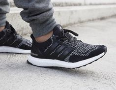 Adidas Ultra Boost 3M / black reflective. Great to see Adidas pushing the boundaries incorporating 3M reflective material into their design.