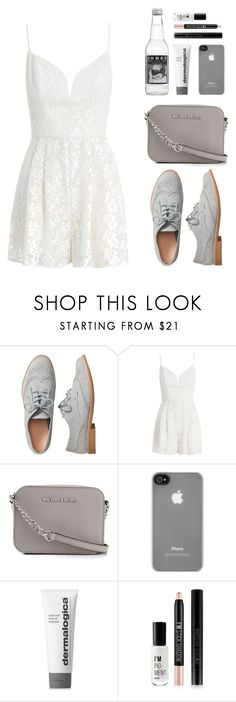 """""""Sin título #1390"""" by romiailenm ❤ liked on Polyvore featuring Gap, Zimmermann, MICHAEL Michael Kors, Incase, Dermalogica and Forever 21"""