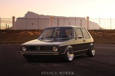 """My first car! Traded a Honda Ascot 500 for a sliver version with like 38,000 miles, 5 speed, S model (Pre-GTI badge) VW Golf Mk1. Added side drafts, bored it over, Monza exhaust (sounded like a Ferrari) cams and tuned. Outrun Mustangs, yes they had VVvvvv8's. Smoked the tires """"Front Wheel Drive"""". Best part, this is the car I had at 20 years old. Even better part """"I met my wife and fell in love with her being with me in my car"""" Gotta have another soon with a wide body kit"""
