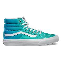 NEW Vans Ombre Sk8-Hi Slim - blue/green/teal