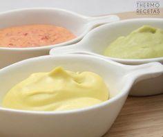 Si trituramos distintos ingredientes con la mayonesa clásica obtendremos unas salsas perfectas para acompañar pescados, carnes, verduras y rebozados.