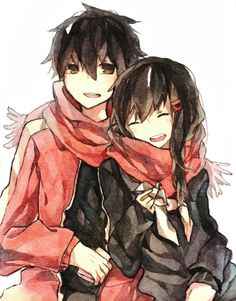 Aw. Ayano and Shintaro I just ship et ;v; /-Pearl