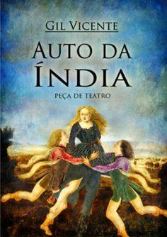 """Capa do livro """"Auto da Índia"""" de Gil Vicente."""