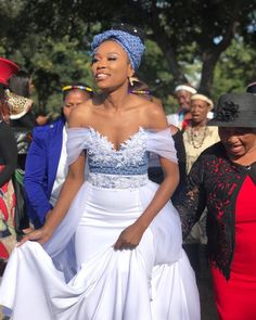 Pretty Want To See Tswana Traditional Wedding Dress Of 2019 Inspirations Want To See Tswana Traditional Wedding Dress Of 2019 - This Pretty Want To See Tswana Traditional Wedding Dress Of 2019 Inspirations design was upload. Wedding Dress Trends, Gorgeous Wedding Dress, Bridal Wedding Dresses, Bridal Gown, Beautiful Dresses, African Print Wedding Dress, African Wedding Attire, African Attire, South African Traditional Dresses
