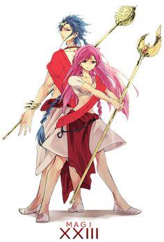 Solomon and Sheba ~Magi: The Labyrinth of Magic