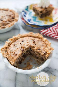 chocolate chip pecan cookie pie chocolate chip pecan cookie pie ...