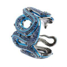 Serpent Cuff by M.C.L. Mathew Campbell Laurenza