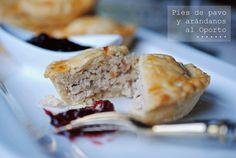 recetas de tía Alia: Pies de pavo y arándanos al Oporto