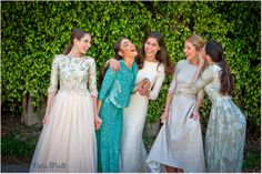 Marelus Evening Wear/second girl from the right/ maybe mother of the bride dress
