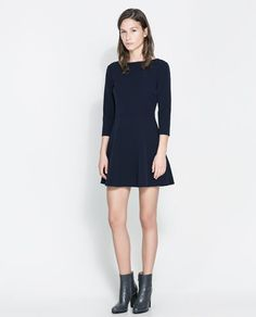 Image 1 of DRESS WITH CROSSOVER BACK from Zara
