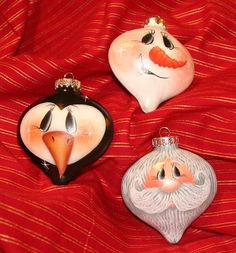 Heart shaped ornaments or convert to recycled lightbulbs