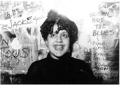 """post-punker:  Poly-Styrene from X-Ray Spex, by Falcon Stuart  """