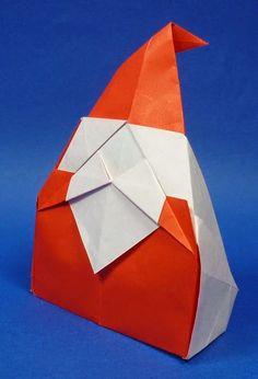 F. ZIEGLER : Origami à Nancy et autres billevesées: Santa Claus de Horiguchi
