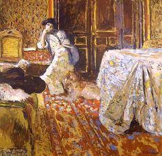 Edouard Vuillard, Le Kimono, 1905