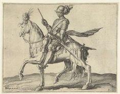 Aanvoerder van de cavalerie (ritmeester), Jacob de Gheyn (II), 1599