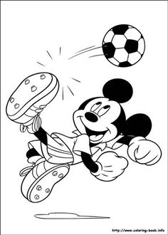 Cartoon coloring pages - Mickey Mouse Clubhouse Coloring Pages for children or adult that this have more similar of Mickey Mouse Clubhouse Coloring Pages. Print out this Mickey Mouse Clubhouse Coloring Pages and enjoy to coloring Football Coloring Pages, Sports Coloring Pages, Mickey Mouse Coloring Pages, Cartoon Coloring Pages, Coloring Pages To Print, Coloring For Kids, Coloring Pages For Kids, Coloring Books, Coloring Sheets
