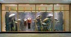 Mushrooms at Anthropologie Autumn Window Display 2013 - Best ...