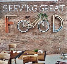 Cool Restaurant Design, Decoration Restaurant, Deco Restaurant, Rustic Restaurant, Coffee Shop Interior Design, Coffee Shop Design, Rustic Cafe, Rustic Coffee Shop, Cafe Concept