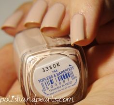 Essie topless and barefoot swatch