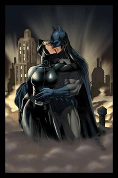 Batman/Catwoman Fan Art - General Chat - Clever Noob