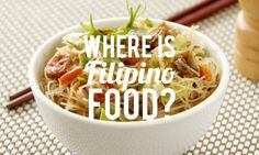 There are many Filipinos in America but not a lot of their food. Maya Dangerfield ate everything from adobo to sinanglay na tilapia to find out why.