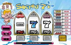 Sacred 7's is a 3 reel, single payline slots game made by Virtue Fusion. Bet as little as 0,10 or as much as 10,00 per spin on this classic style game with some fruity features. Line up Bars, Cherries and colourful 7's for a winning combination.
