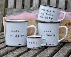 Congratulations gift for baby Unique Baby Shower Gifts, Bridal Shower Gifts, Gifts For New Moms, Gifts For Friends, Practical Housewarming Gifts, Promoted To Big Brother, Congratulations Gift, Mom Mug, Baby Gifts