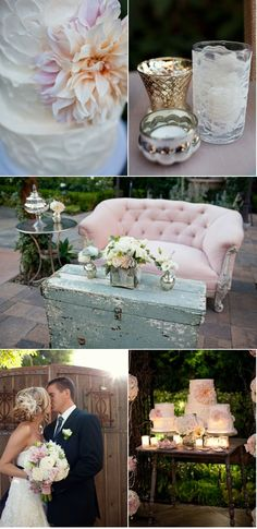 love this look for a vintage wedding :)