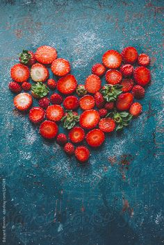 Strawberries + heart