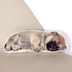 Cutest Baby Dog Pillow linen decorative pillow by Casacova Cute Baby Dogs, Cute Babies, Dog Lover Gifts, Dog Lovers, Dog Pillows, Shiba Inu, Natural Linen, Linen Fabric, Cuddling