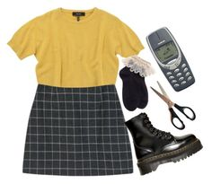 """""""Untitled #298"""" by tater-titties on Polyvore featuring Isabel Marant, StyleNanda and Dr. Martens"""