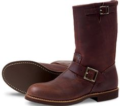 Red Wing 2991 Amber Harness Leather Engineer Boot
