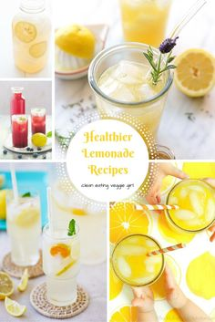 Healthier Lemonade R