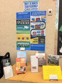 January is Human Trafficking Awareness Month. The May Memorial Library partners with Alamance For Freedom to host a display each January with information and resources in the area.