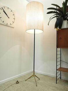 Stehleuchte   TRIPOD   50s 50er   Rare Floorlamp   Wohnzimmerleuchte