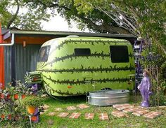 Watermelon Camper https://www.facebook.com/MusicCityChocolatiersDoveChocolateDiscoveries