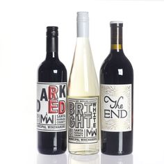 Interesting lettering on the wine labels - Municipal Mix Pack With ...