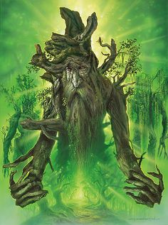 Treebeard ~ Jerry Vanderstelt. I have always been fascinated by the trees in LOTR.