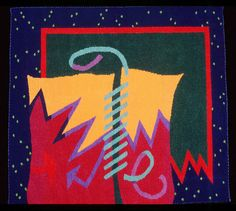 Dancing Color: Audrey Moore's tapestry, curated by Cheryl Silverblatt