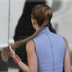 A Completely New Way to Wear Your Ponytail