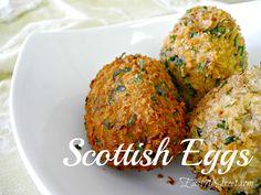 Scottish Egg Recipe from Disney/Pixar's BRAVE