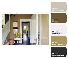 Paint colors for living room from Chip It! by Sherwin-Williams