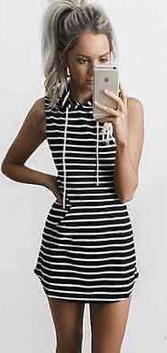 Nautical Mini Dress. Boho summer clothes. Dress, jewelry, and fashion. I love this style!