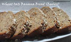 Wheat Oats Walnut Banana bread