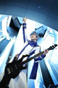 Vocaloid cosplay - Kaito
