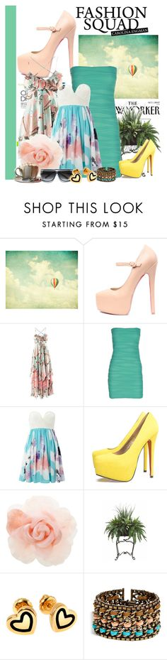 """melanie"" by melaniehayden ❤ liked on Polyvore featuring Bohemia, Boob, Izabel London, AX Paris, Warehouse, The Cambridge Satchel Company, PLANT, Hillier London and DANNIJO"